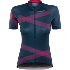 Shimano Team Cykeltrøje Damer, navy/pink